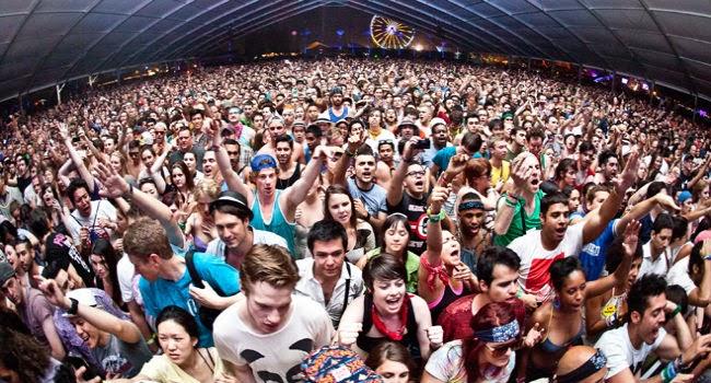 Drugs at music festival