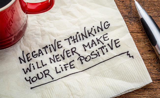 Negative thinking in Recovery