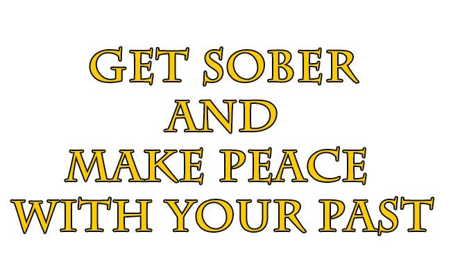 get sober