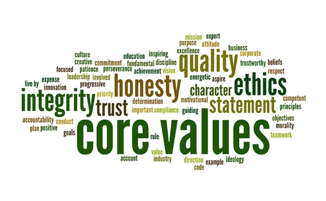 Values in Recovery