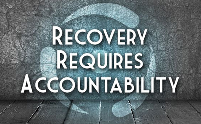 Accountability in Recovery